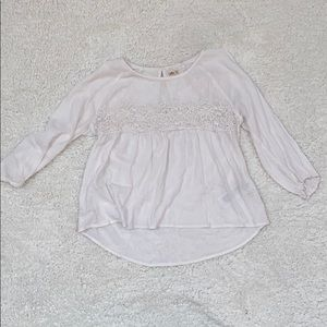 Hollister Peasant Blouse Top